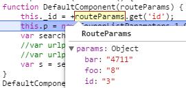 routeParams.params