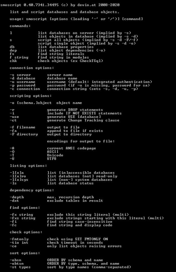 smoscript 0.40 command-line parameters
